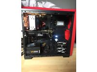 Gaming pc with 32 inch monitor