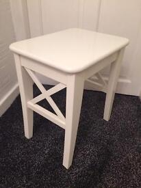 Wooden foot stool/table
