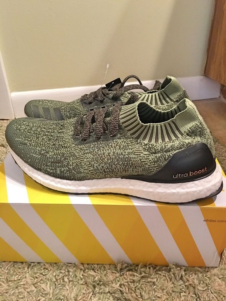 Adidas Ultra Boost Olive Green Uncaged