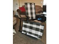 2 quest elite reclining chairs