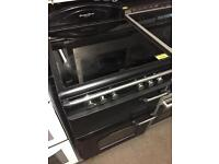 Leisure black 600 cooker