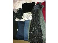 Maternity bundles of clothes size 12