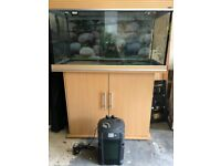 Aqua One tropical fish tank full set up
