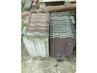 Roof tiles and building bricks free