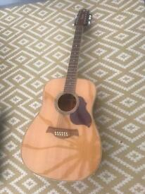 Crafter d8-12 eq/n 12-string guitar in excellent condition