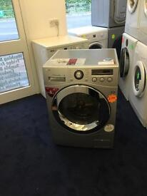 ***Silver L.G Direct Drive 8kg 1600spin washing machine***Free Delivery**Fitting**Removal