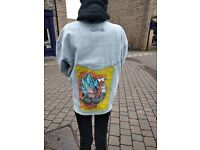 Dragon ball denim jacket