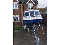 16 foot John Dory fast fishing boat for sale