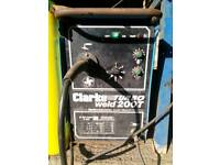 Clarke 200 amp turbo Mig welder