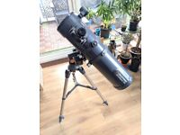 Telescope AstroMaster 130 EQ MD (moto-drive) - used once