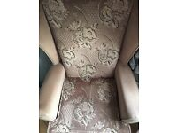 Mint condition 2 piece suite and 2 chairs