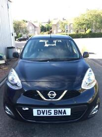 2015 Nissan Micra one year mot £30 for 12 months road tax