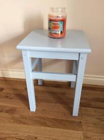 Duck egg blue small table £15