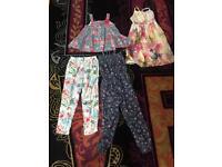Fab girls summer bundle age 5-6 hardly worn