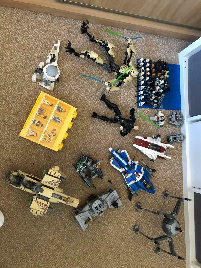 Lego Star Wars Set Of 5 Droids Mini Figures