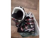 Nordica Speed Machine 110 Black Ski Boots Men's Size