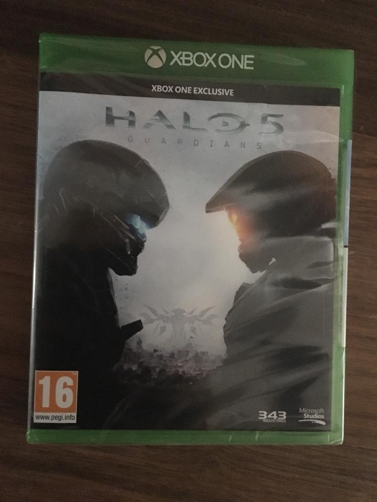 Halo 5 for xbox one. Brand new, unopened.