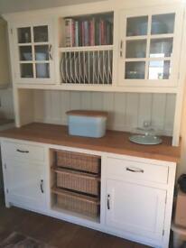 Dresser solid oak bespoke