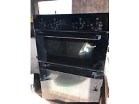 Bosch double oven and grill electric