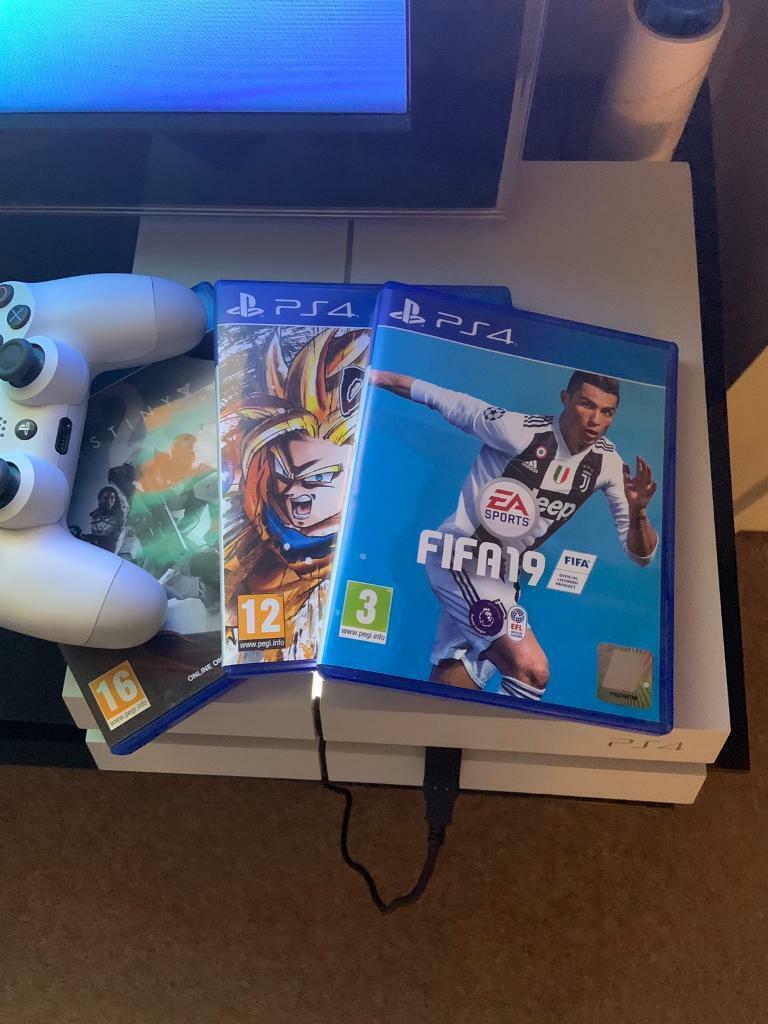 PS4 *LIKE NEW* + 3 GAMES (Fifa 19, Dragonball Fighterz, Destiny 2) | in  Hatfield, Hertfordshire | Gumtree