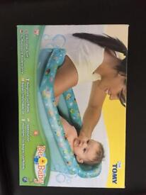 Tomy inflatable baby bath. brand new, still in packaging
