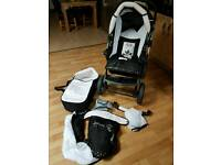 BabyMerc Pram / Push chair Travel System
