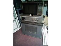 HOTPOINT SINGLE BUILT IN OVEN AND BUILT IN MICROWAVE