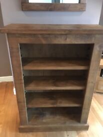 Indigo book shelf, brand new.