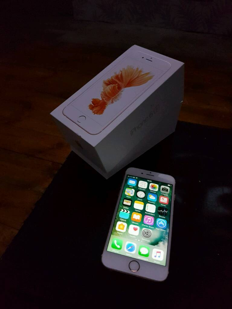 Iphone 6s on EE network 16gbin Ilkeston, DerbyshireGumtree - Iphone 6s on EE network rose gold 16gb great condition comes boxed with charger. If interested pls call thanks