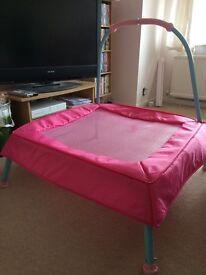 Elc pink junior Trampoline