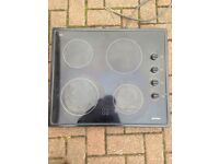 Electric smeg cooker hob
