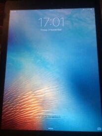 iPad Air 1 16GB cracked screen