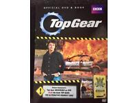 Top Gear Official DVD and book set. Brand new and sealed
