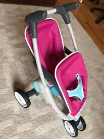 Smoby Quinny Twin Dolls Pushchair