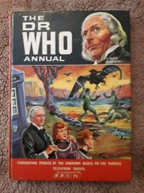 DR Who 1967 Annual