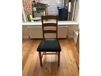 For sale Solid Oak Table and Chairs £150