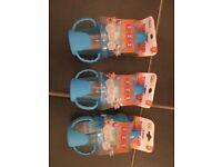 Baby boy / blue sippy cup bundle (NEW)