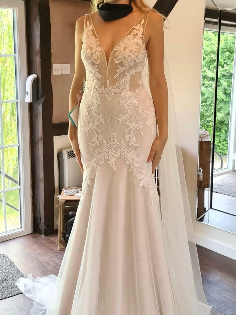 Brand New Daniela Di Marino Wedding Dress Size 10 In Newbury Berkshire Gumtree