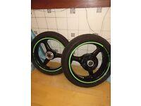 Zx6r f wheels