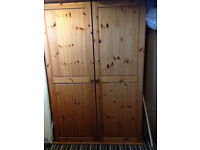 Solid pine wardrobe for sale,....