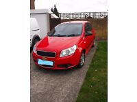 Chevrolet Aveo 1.2L, very low milage,59 plate, full service history, 12 months MOT,