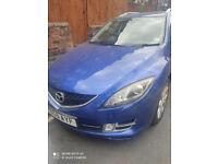 Mazda, 6, Estate, 2010, Manual Diesel, 2183 (cc), 5 doors, Blue