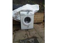 Zanussi washing machine 6kg 1400rmp