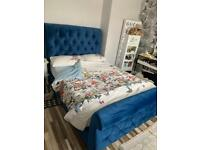 Double Sleigh Bed Frame (only 8 months old)