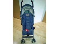 Maclaren Quest Pushchair (Denim Indigo) + Buggy Board Maxi for a toddler