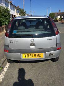 ** SOLD ** Vauxhall Corsa 2001 plate. 1.2Litre. FIXER UPPER