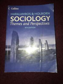 Sociology themes and perspectives by Haralambos and Holborn