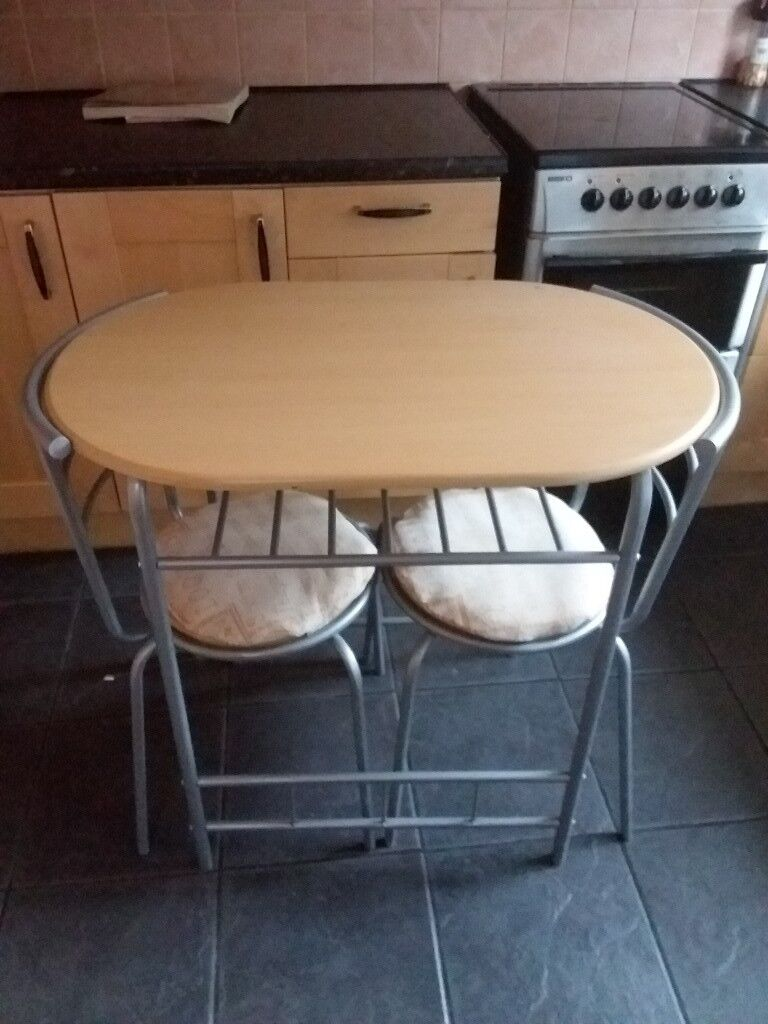 PRICE REDUCED 2 Seater Dining Table And Chairs