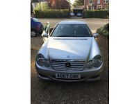 2007 Mercedes Benz CDI 220 Diesel Automatic 3DR Coupe