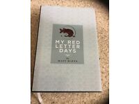 Matt Hayes, My Red Letter Days. The book is signed by the man himself. It is n excellent condition..